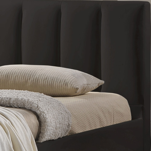 Evergreen Home Black Adele Bed