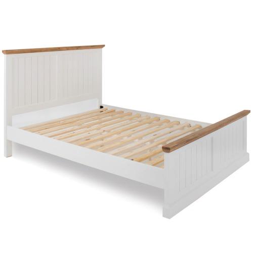 Lisa Queen Solid Wood Bed Frame | Temple & Webster