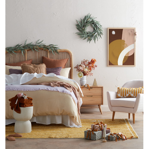 Evergreen Home Marley Messmate Bedside Table