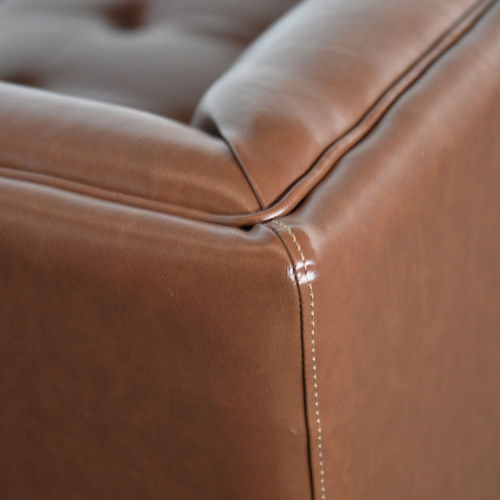 By Designs Leonor 3 Seater Faux Leather Sofa