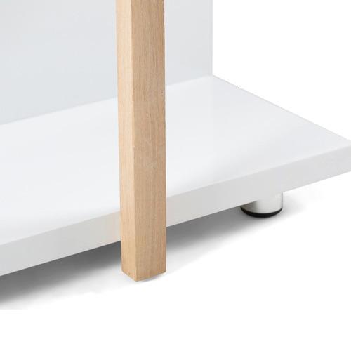 Homestar Furniture White Alexandria Shelving Unit