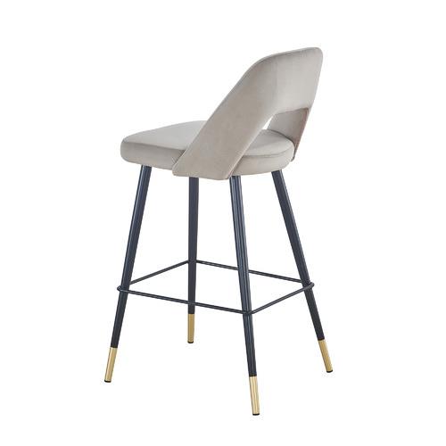 Homestar Furniture 64cm Jacinta Velvet Barstools