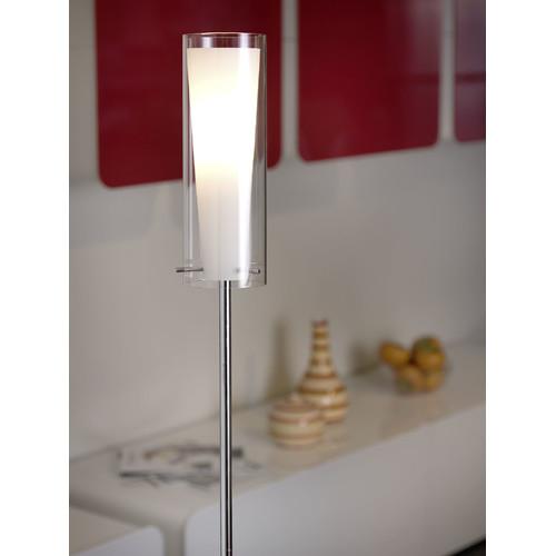 Eglo Pinto Floor Lamp In Chrome