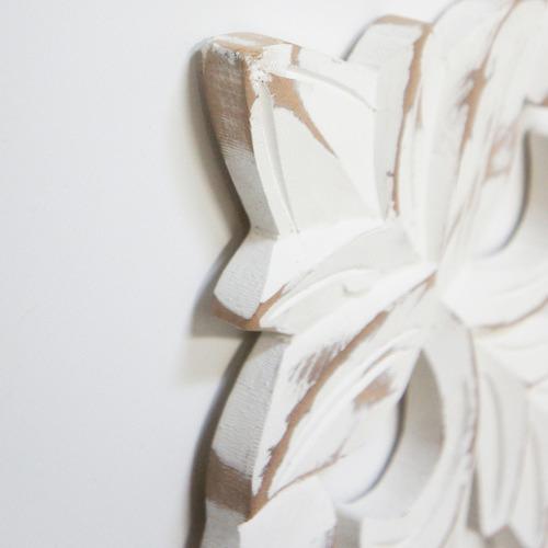 Stoneleigh & Roberson White Bonita Wall Accent