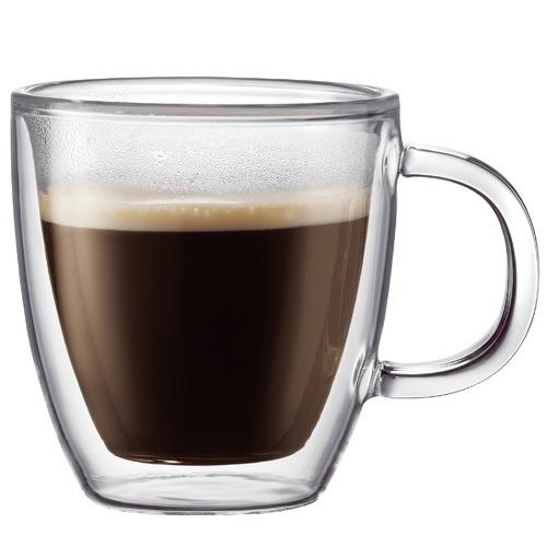 Bodum Bodum Bistro Double Wall Espresso Mugs 150ml