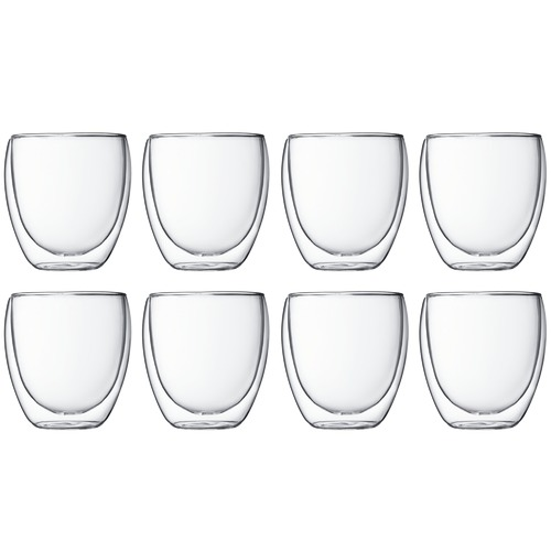 Bodum Small Pavina 250ml Glasses