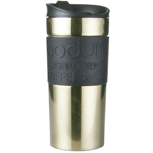 Bodum Bodum Gold Stainless Steel Travel Mug 350ml