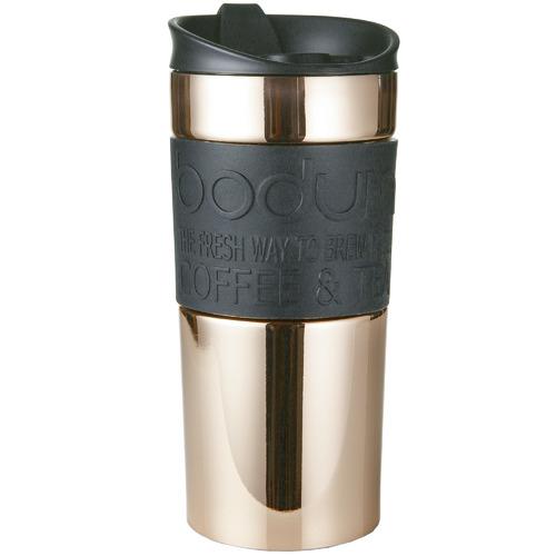 Bodum Bodum Rose Gold Stainless Steel Travel Mug 350ml
