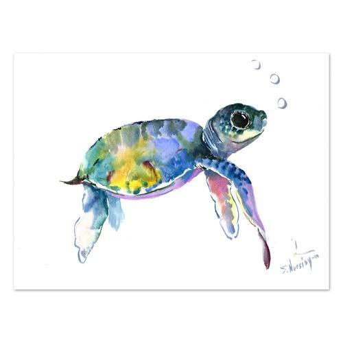 Baby Sea Turtles 2 Printed Wall Art