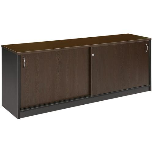 Cooper Furniture Buffet Sliding Door in Wenge / Silver