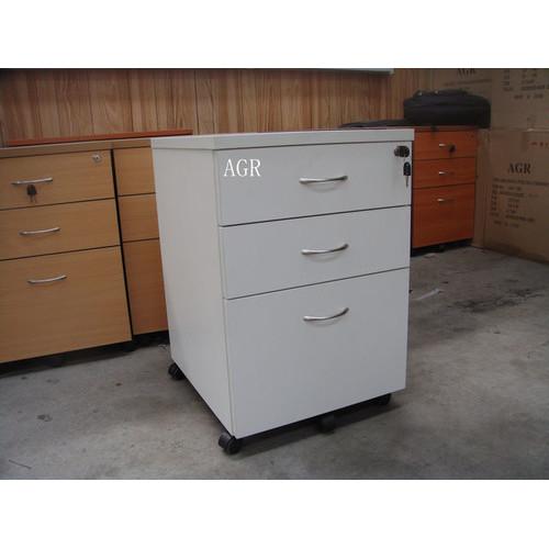 2 Drawer / 1 File Mobile Pedestal Filling Cabinet in Parchment ...