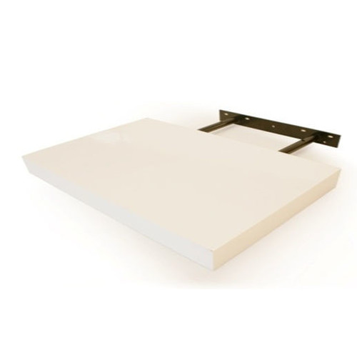 Cooper Furniture 25cm Floating Shelf in White Lacquered Finish