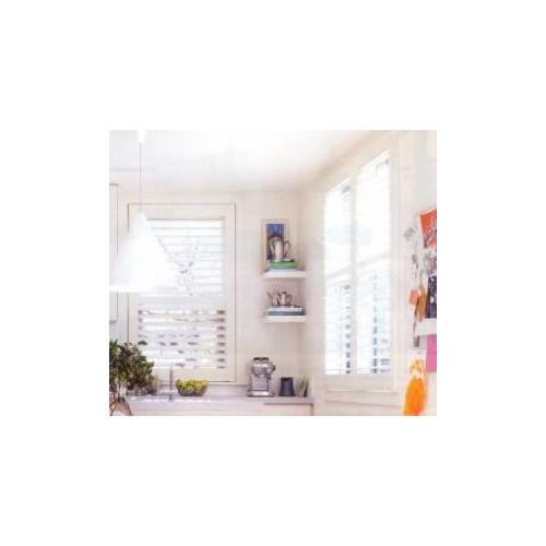 Cooper Furniture Floating Shelf in White High Gloss