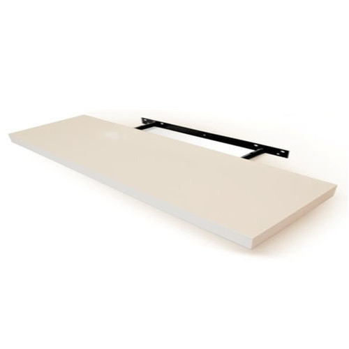 Cooper Furniture 120cm Floating Shelf in White Lacquered