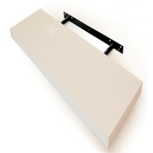 Cooper Furniture 30cm Floating Shelf in White High Gloss