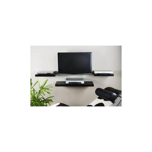 Cooper Furniture 45cm Media Shelf in High Gloss Black