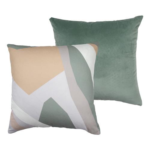 Urban Road Sea Drifter Square Velvet Cushion