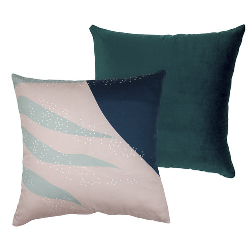 Urban Road Oasis Velvet Square Cushion