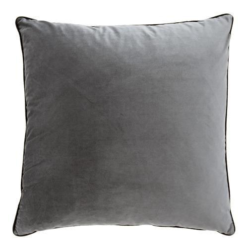 Urban Road Steel Grey Oversized Velvet Cushion