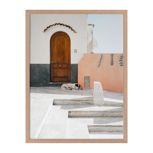 Urban Road Mexican Standoff Framed Printed Wall Art
