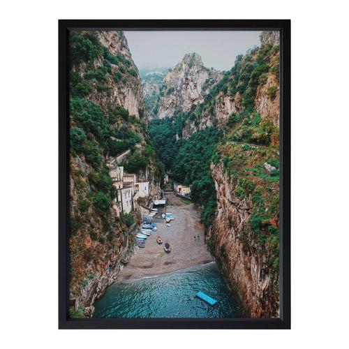 Urban Road Mediterranean Adventure Framed Printed Wall Art