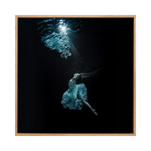 Urban Road Underwater Dancer II Canvas Wall Art