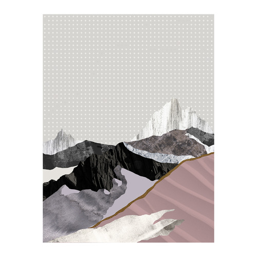 Urban Road Moving Mountains II Canvas Wall Art
