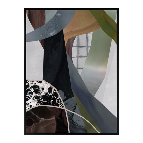 Urban Road Wires Crossed Canvas Wall Art