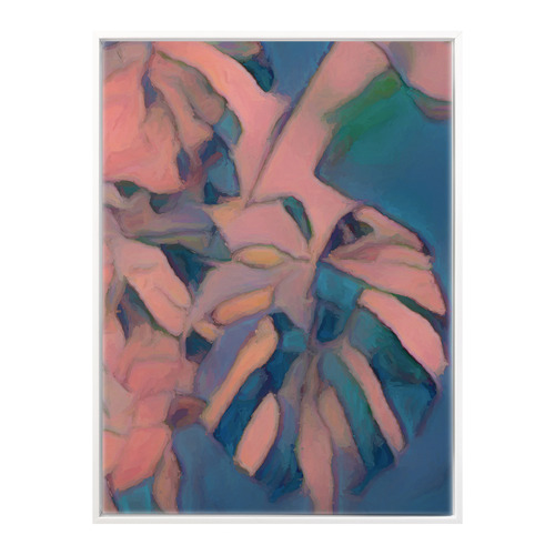 Urban Road Rose Coloured Glasses II Canvas Wall Art
