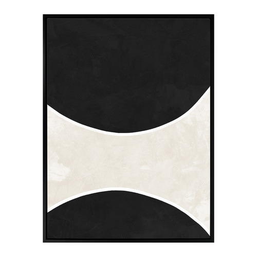 Urban Road Ellipse Canvas Wall Art