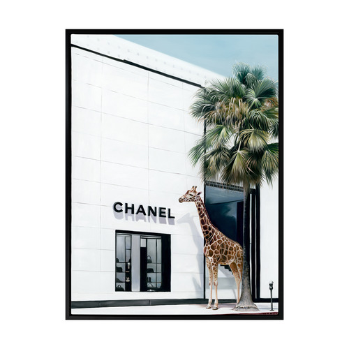 Urban Road Rodeo Drive Canvas Wall Art
