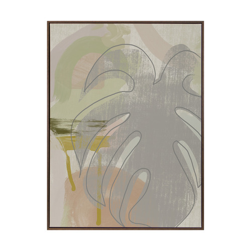 Urban Road Subtropica II Canvas Wall Art