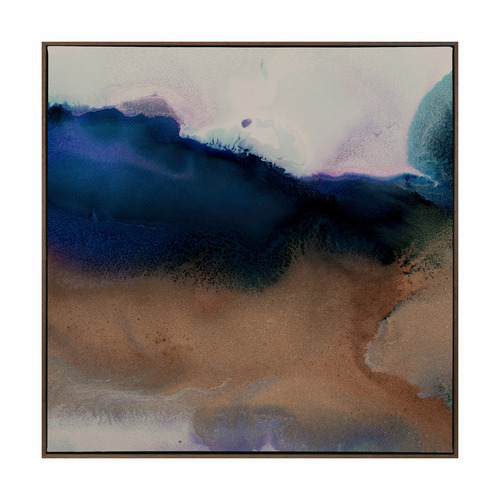 Urban Road Burnished II Canvas Wall Art