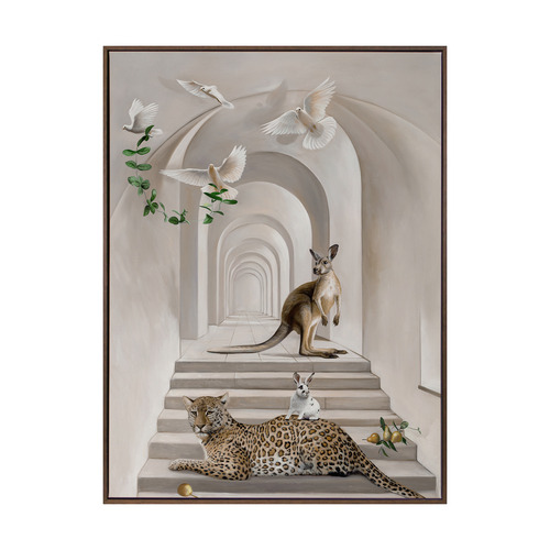 Urban Road Menagerie Canvas Wall Art