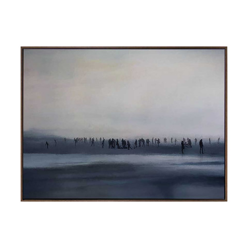 Urban Road Sound Of Silence Canvas Wall Art
