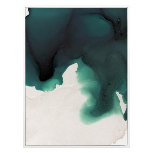 Swell Emerald Canvas Wall Art