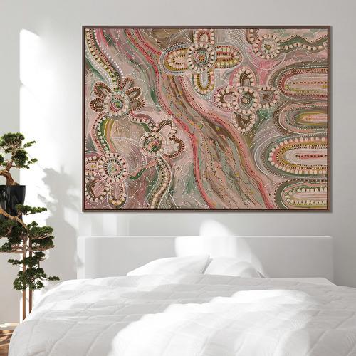 Bila Framed Canvas Wall Art
