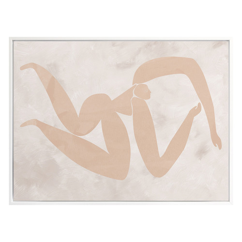 Amelie Cut-Out IV Canvas Wall Art