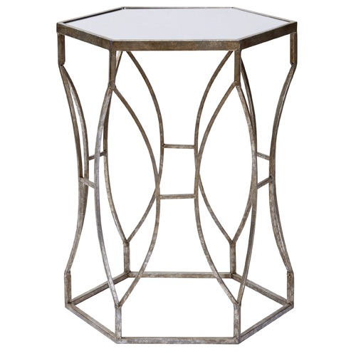 Delray Metal Amp Glass Side Table Temple Amp Webster
