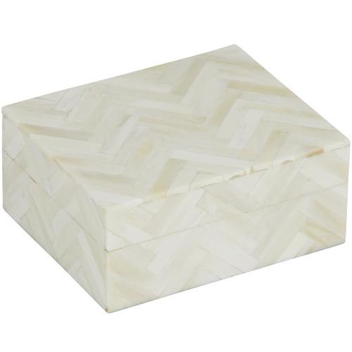 The Home Collective Cream Marston Bone Deco Boxes