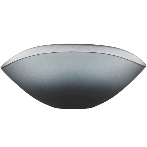 The Home Collective Matte Ombre Grey Ingrid Wave Glass Bowls