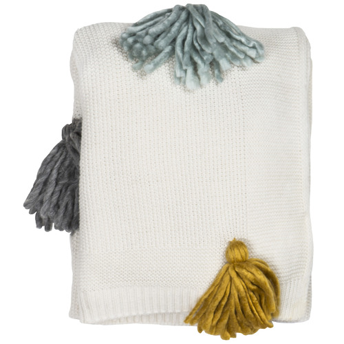 The Home Collective Penley Wool-Blend Throw