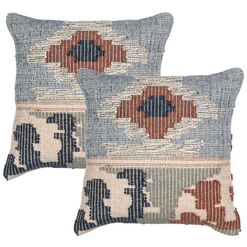 The Home Collective Sato Cotton & Wool Cushions