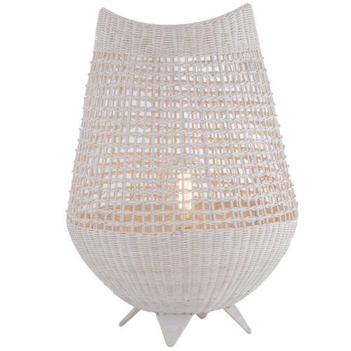 The Home Collective Katani Rattan Table Lamp