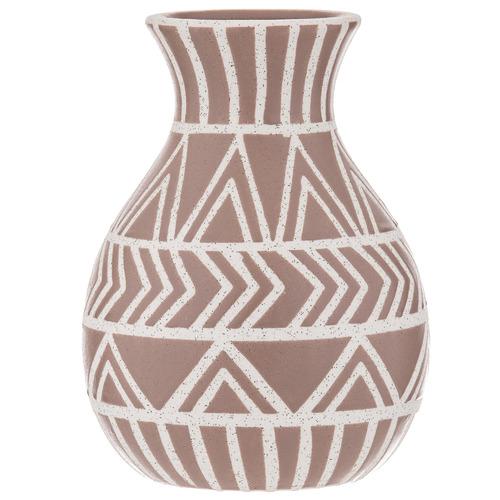 The Home Collective Salmon Adani Ceramic Vase