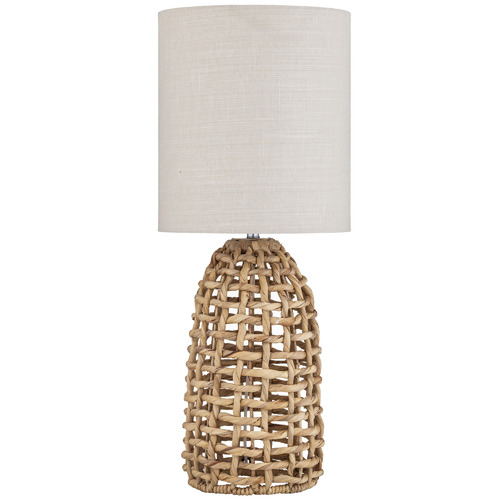 The Home Collective Agila Water Hyacinth Table Lamps