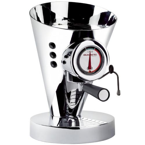 Bugatti Chrome Diva Espresso Machine