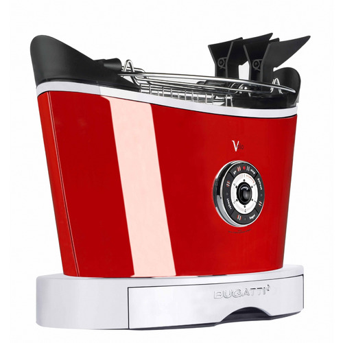 Bugatti Volo Steel Toaster with Accessories