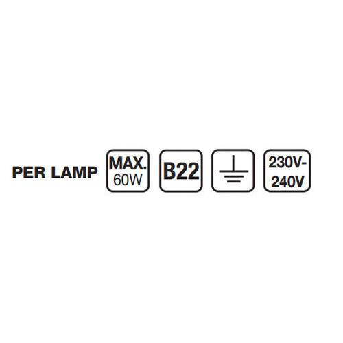 Superlux Fisherman Single Wall Light