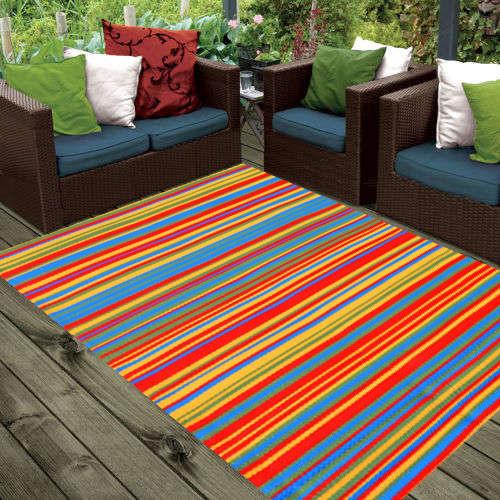 Ground Work Rugs Design Modern Outdoor Rug Chatai in Multi